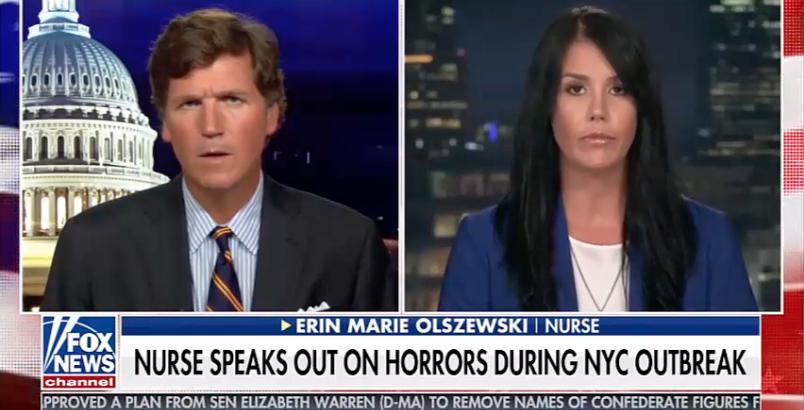 Tucker Carlson interviews Erin Marie Olszewski